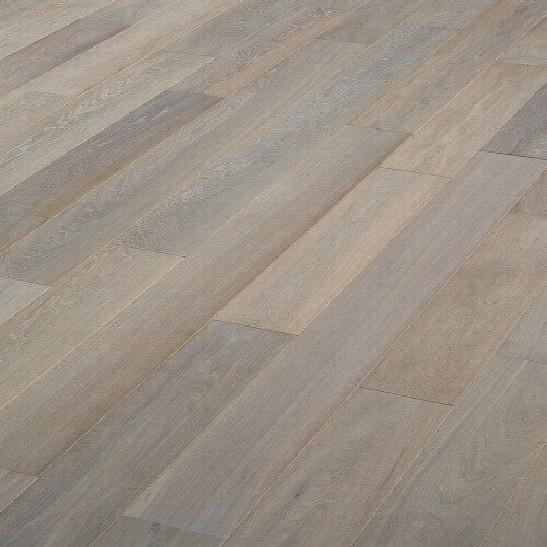 Parquet chêne contrecollé Silver grey PR -  - Parquet Contrecollé Contemporain