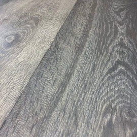 Parquet chêne contrecollé Basalt vielli