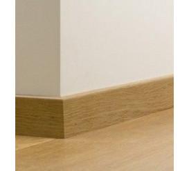 Plinthes MDF chêne verni 12x80