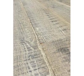 Parquet chêne massif old grey strong