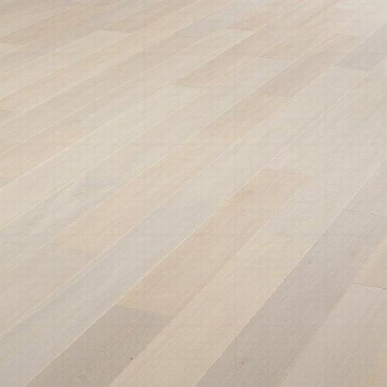 Parquet chêne contrecollé Cotton White PR - - Parquet Contrecollé Contemporain