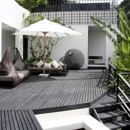 lame de terrasse composite gris anthracite composite. Black Bedroom Furniture Sets. Home Design Ideas